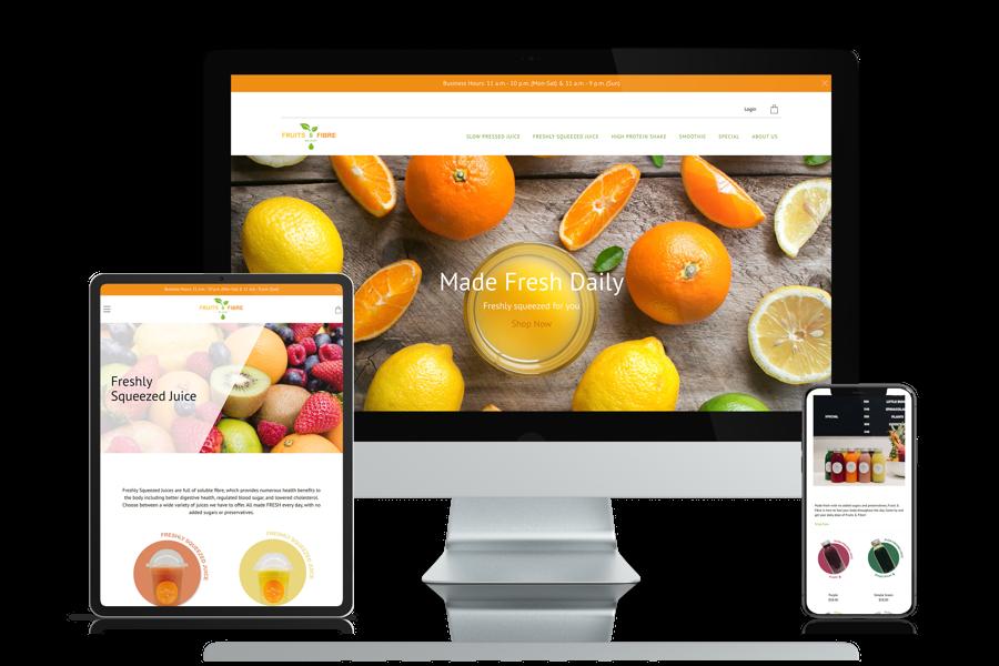 Virtue Media Case Studies - Fruits and Fibre